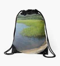 Ocean Coast Dighton, MA Drawstring Bag