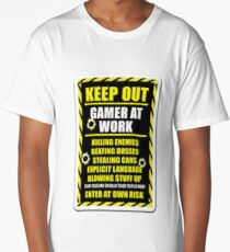 Gamer  Long T-Shirt