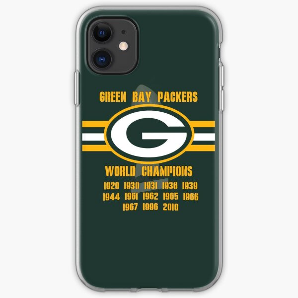Green Bay Titles iPhone Soft Case