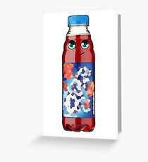Bottle Greeting Card
