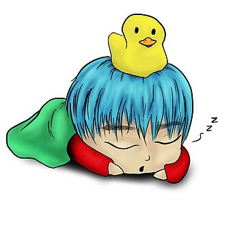 Suga Nap Time Chibi by PinkPocky97