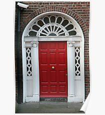 Red Door No. 16 Poster