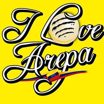 I LOVE AREPA by kmpesino