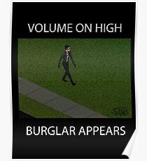 The Sims Burglar! Poster