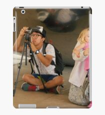 Two Photographers iPad Case/Skin