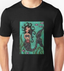 Mermaid Sister With Silver Accents T-Shirt