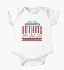 Those Who Stand For Nothing Kids Clothes