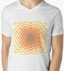 Abstract / Psychedelic / Geometric Artwork Men's V-Neck T-Shirt