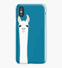 LLAMA PORTRAIT #10 iPhone Case