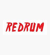REDRUM (murder) Photographic Print