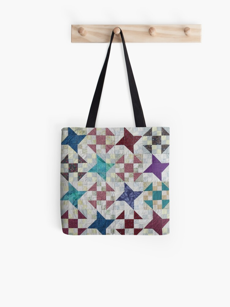 Dash Quilted Tote Bag