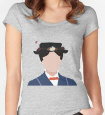 I'd know that silhouette anywhere! Women's Fitted Scoop T-Shirt