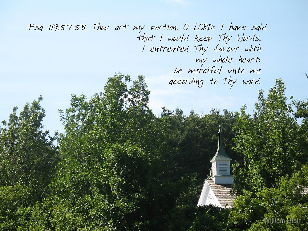 Psalm 119:57 by William Blair