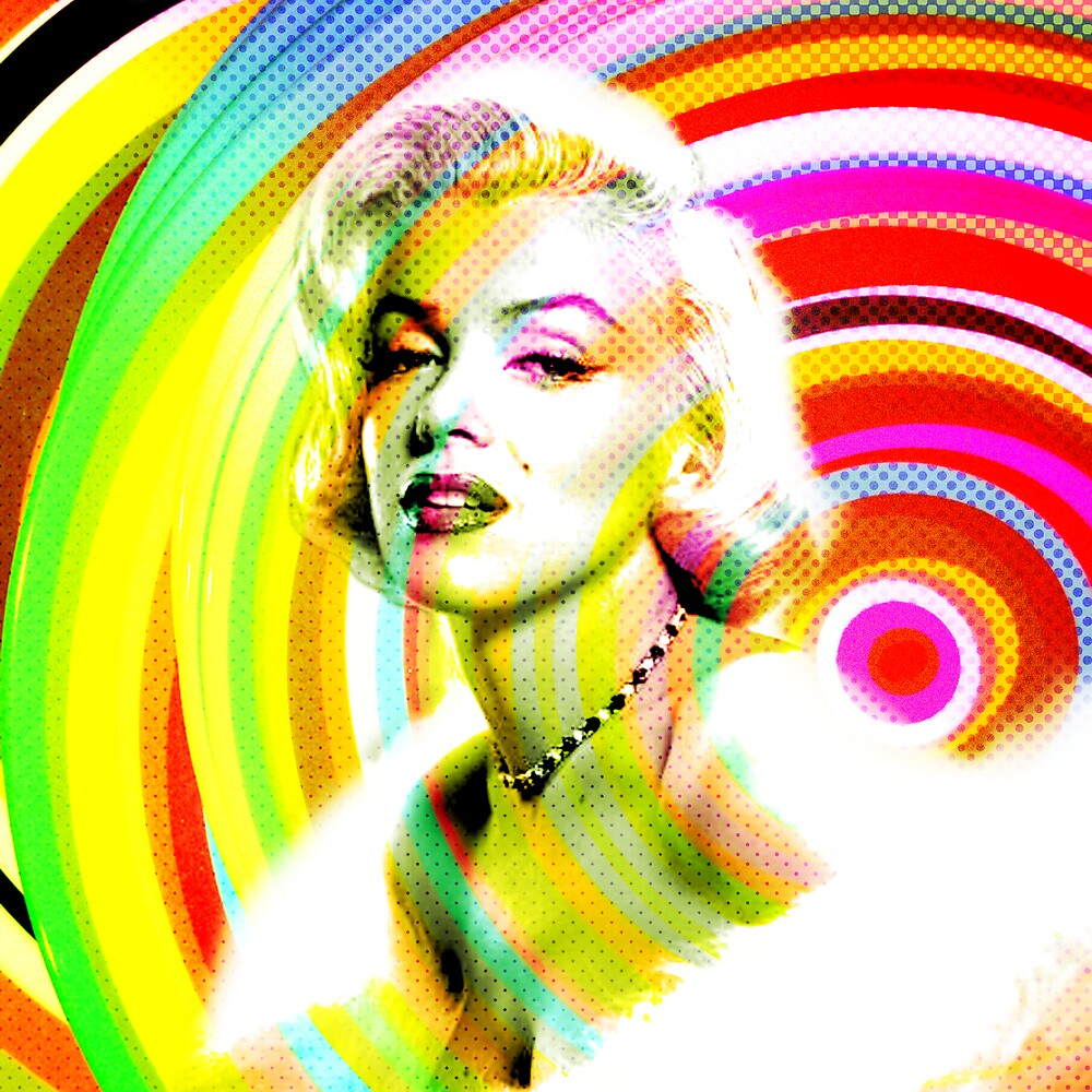 Marilyn Pop by Oliver Marcetic