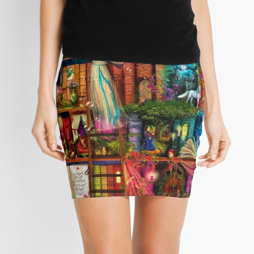 Whimsy Trove - Treasure Hunt Mini Skirt