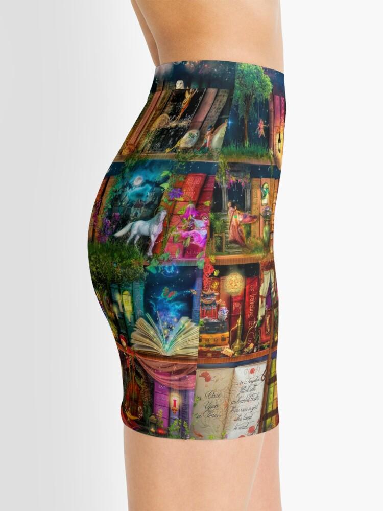 Alternate view of Whimsy Trove - Treasure Hunt Mini Skirt