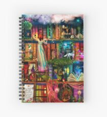 Whimsy Trove - Treasure Hunt Spiral Notebook