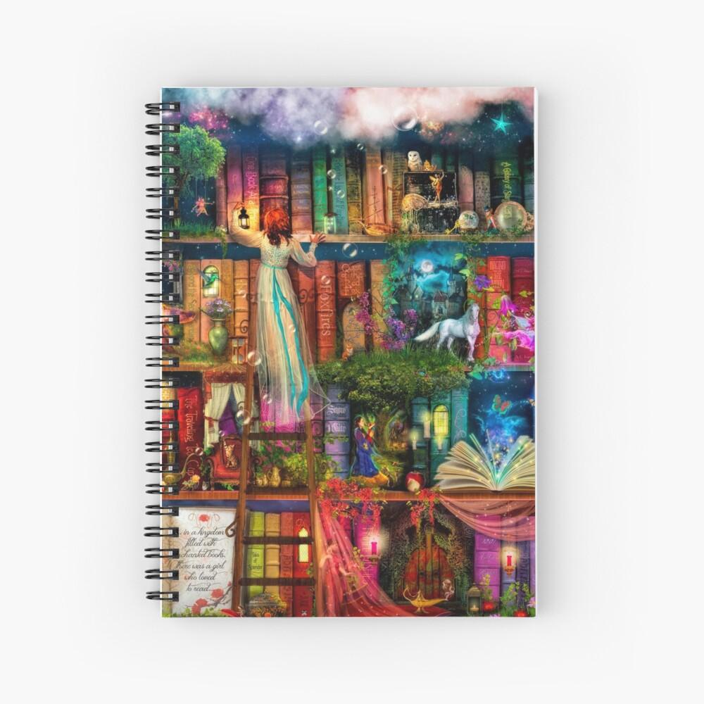 Whimsy Trove - Treasure Hunt Spiral Notebook