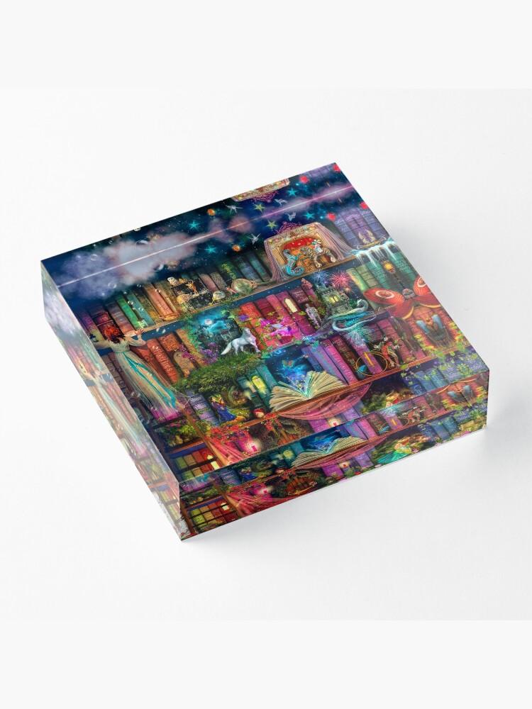 Alternate view of Whimsy Trove - Treasure Hunt Acrylic Block