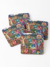 Whimsy Trove - Treasure Hunt Coasters