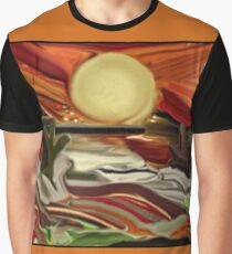 Southwestern Skies Abstract Art Graphic T-Shirt