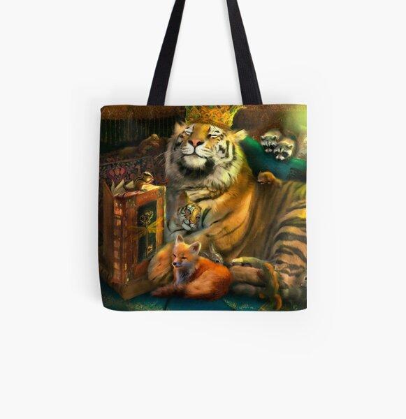 The Storyteller All Over Print Tote Bag