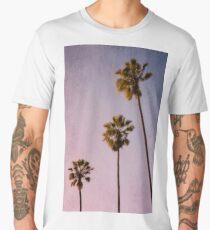 Pink Palms Men's Premium T-Shirt