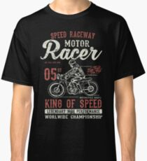 Motorcycle Racer Retro Vintage Classic T-Shirt