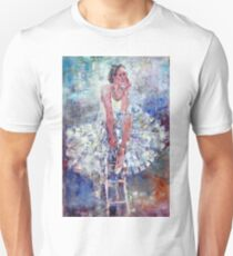 Ballet Dancer on the Stool T-Shirt