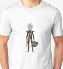 Space Rick - Rick and Morty - Sticker T-Shirt