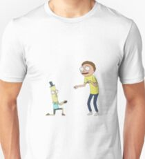 Mr Poopy Butthole Proposal v2 - Rick and Morty - Sticker T-Shirt