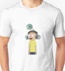 Morty Animal Machine - Rick and Morty - Sticker T-Shirt