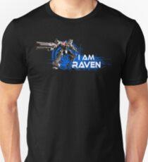 I am Raven (White Text) Unisex T-Shirt