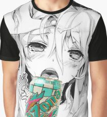 Anime Can Lewd Hentai Graphic T-Shirt