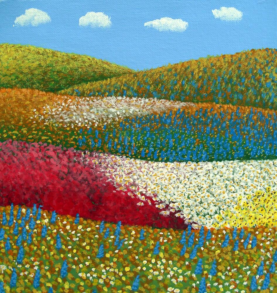 Fields of Flowers by fbkohli
