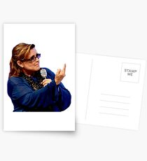 Carrie Fisher Postcards
