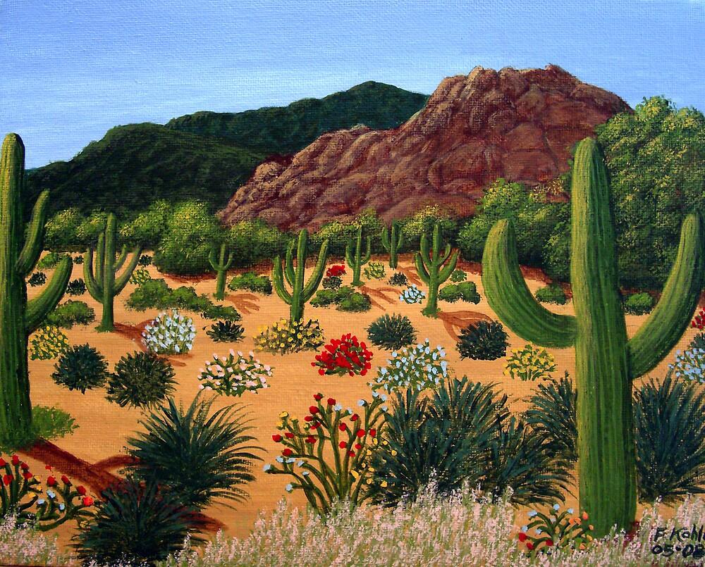 Seguaro Desert by fbkohli