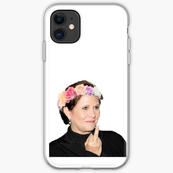 Carrie Fisher <3 iPhone Soft Case