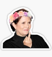 Carrie Fisher <3 Sticker