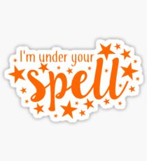 buffy - i'm under your spell Sticker