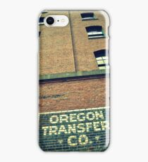 Oregon iPhone Case/Skin