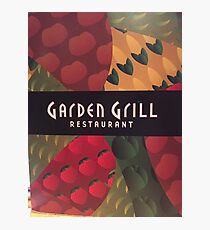 Garden Grill Photographic Print