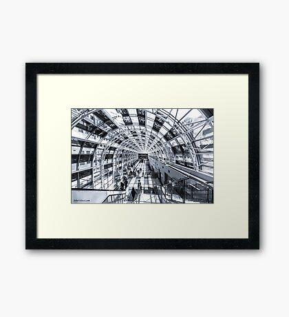 Toronto Skywalk Framed Print