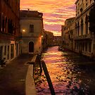 Sunrise In Venice  by Nigel Donald