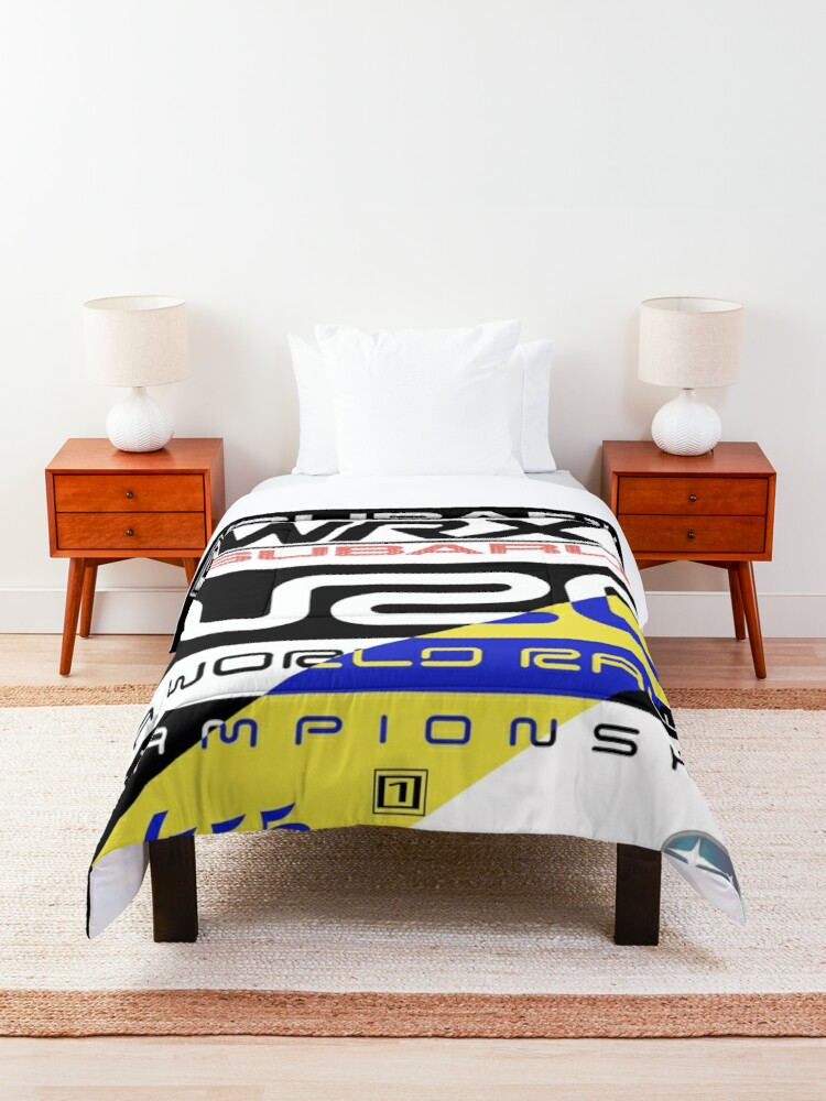 Alternate view of Subaru Rally 555 Comforter