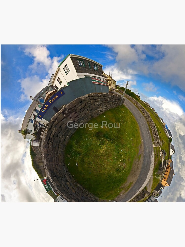 Tigh Ruairi - Inisheer Village (Sky out)  by VeryIreland