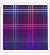 1980s Grid Sticker