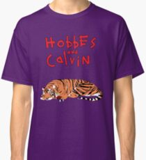 Hobbes and Calvin logo Classic T-Shirt