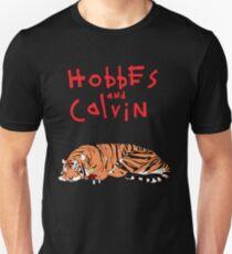 Hobbes and Calvin logo T-Shirt