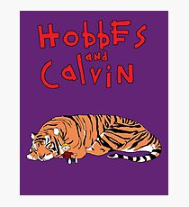 Hobbes and Calvin logo Photographic Print
